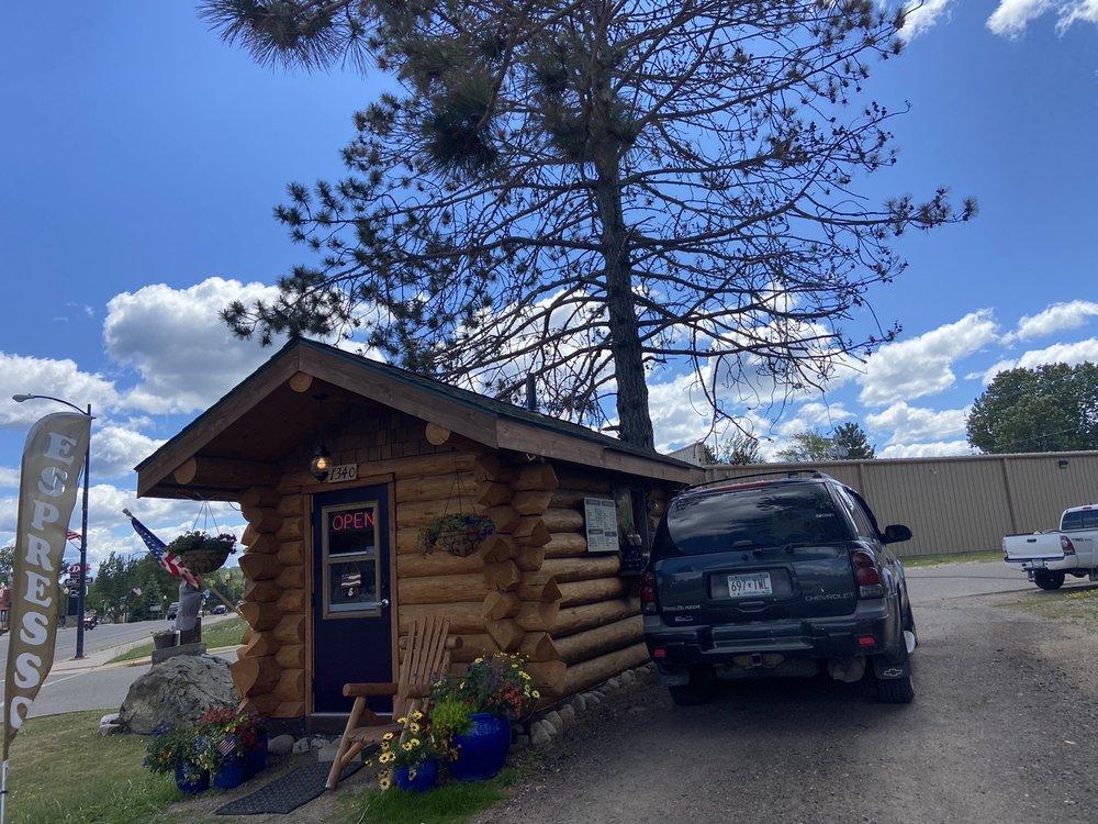 Log Cabin Coffee: 1340 E Sheridan St, Ely, MN