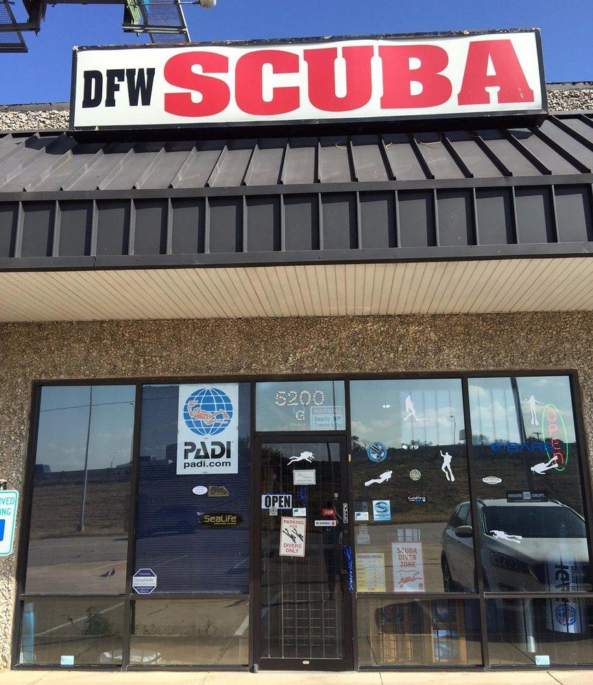 DFW Scuba Shop: 5200 Airport Fwy, Haltom City, TX