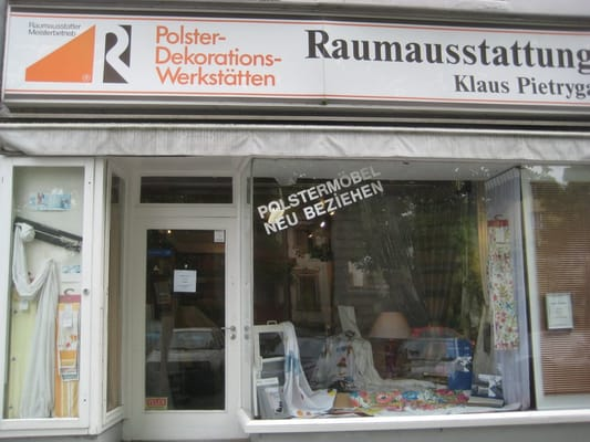 raumausstattung klaus pietryga polsterei oberhofer weg 17 steglitz berlin deutschland. Black Bedroom Furniture Sets. Home Design Ideas