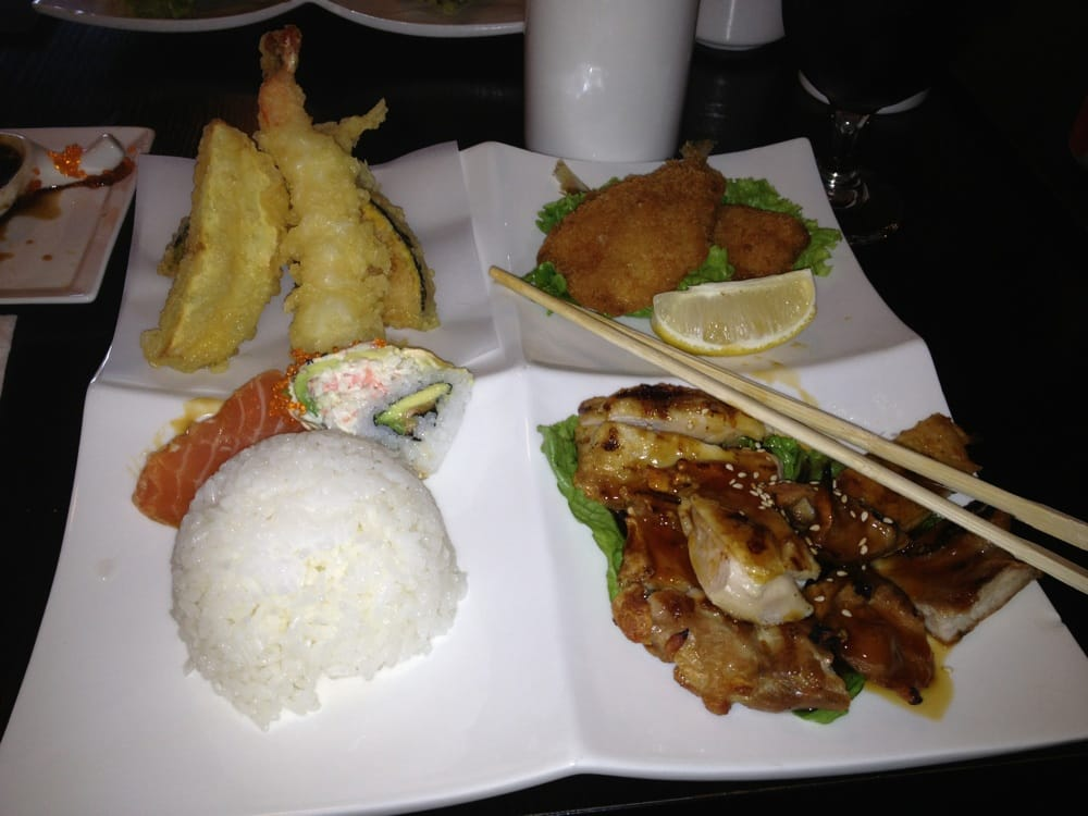 lovely bento box lunch the four seasons roll is not to be missed yelp. Black Bedroom Furniture Sets. Home Design Ideas