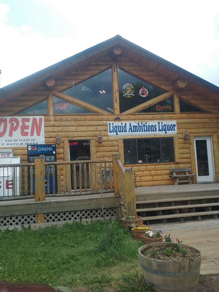 Liquid Ambitions Liquor: 21315 State Hwy 149, Creede, CO