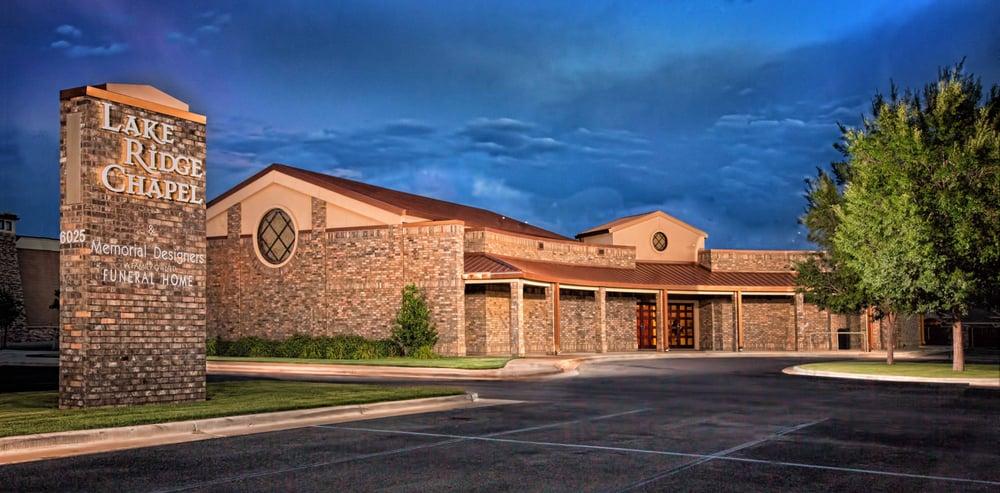 Lake Ridge Chapel & Memorial Designers: 6025 82nd St, Lubbock, TX