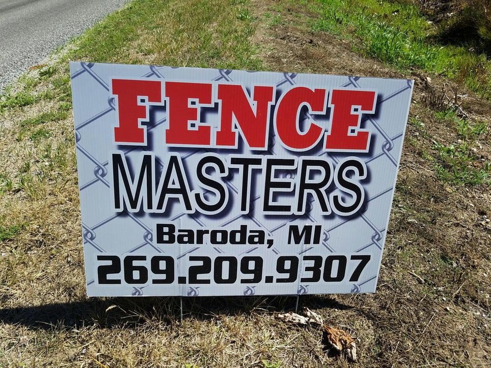 Fence Masters: 7526 Jericho Rd, Stevensville, MI