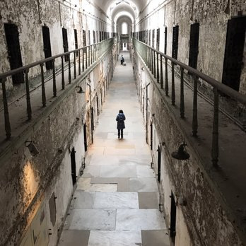 history eastern state penitentiary Eastern state haunted history ghost adventures investigate the eastern state  penitentiary, a former prison infamous for its solitary confinement cells,.