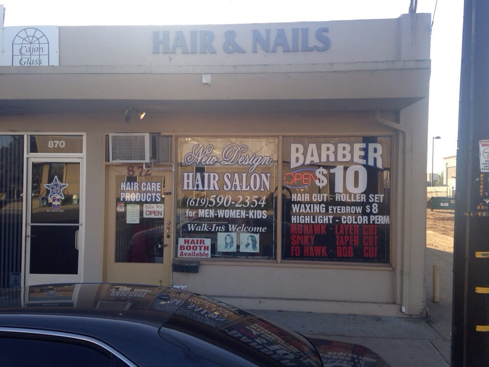 New design hair salon is located across the street from for 2nd street salon