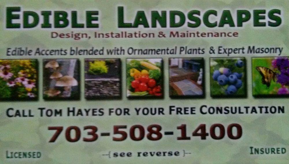 Edible Landscapes: Falls Church, VA