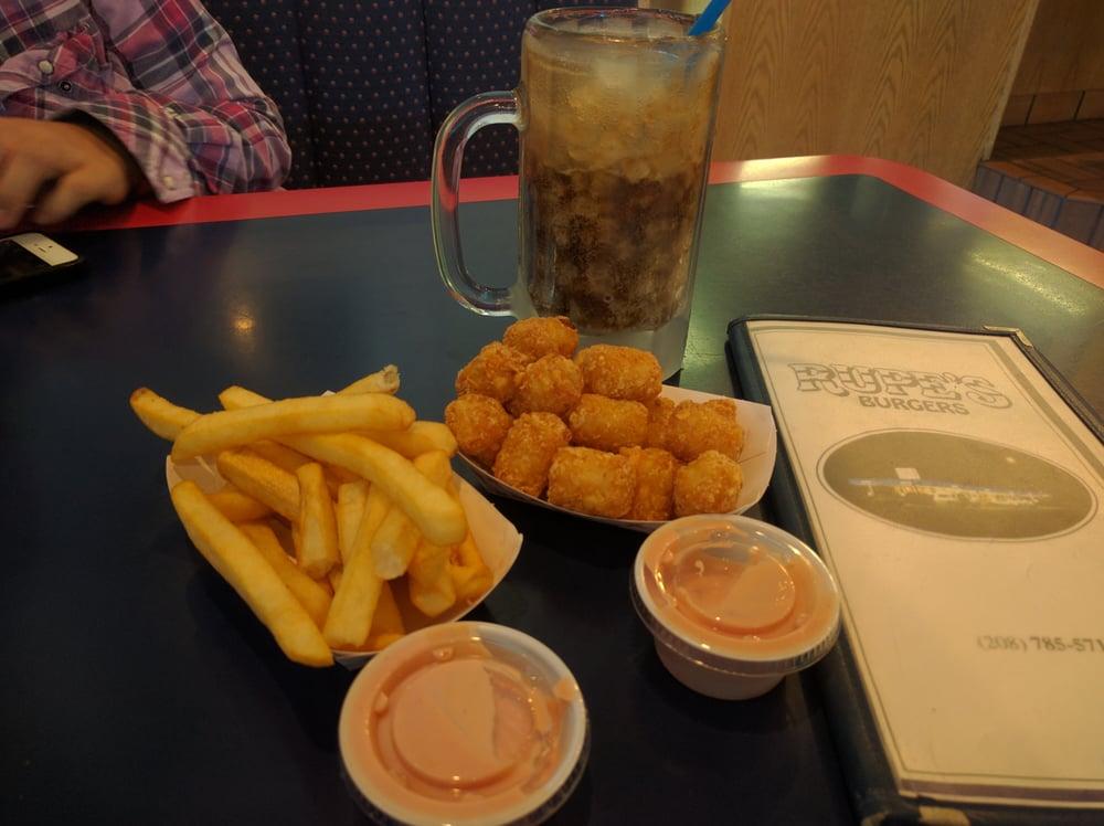 Rupe's Burgers: 302 NE Main St, Blackfoot, ID