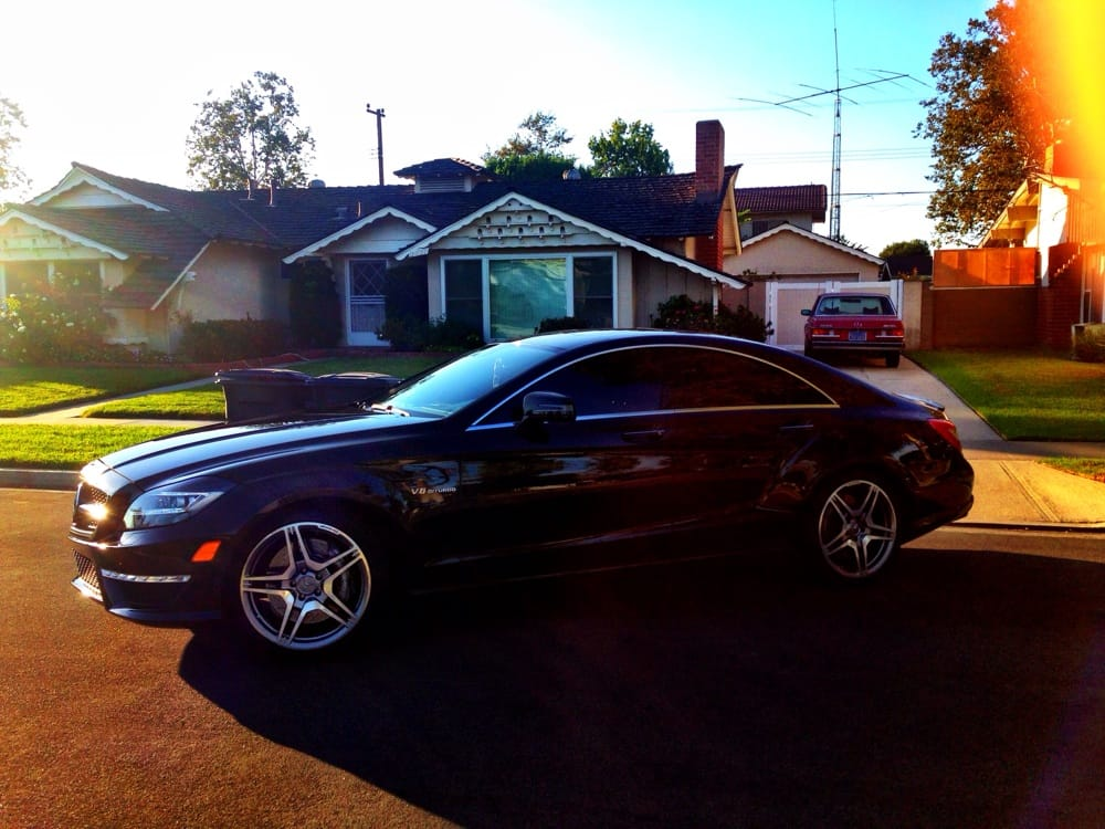 Pic taken after my cls was tinted yelp for Mercedes benz laguna niguel ca