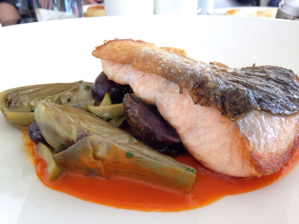 Pan fried scottish salmon yelp for Akbar cuisine of india santa monica ca