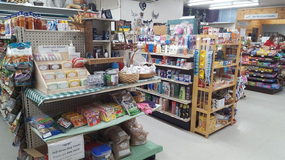 Anderson Island General Store: 10202 Eckenstam Johnson Rd, Anderson Island, WA
