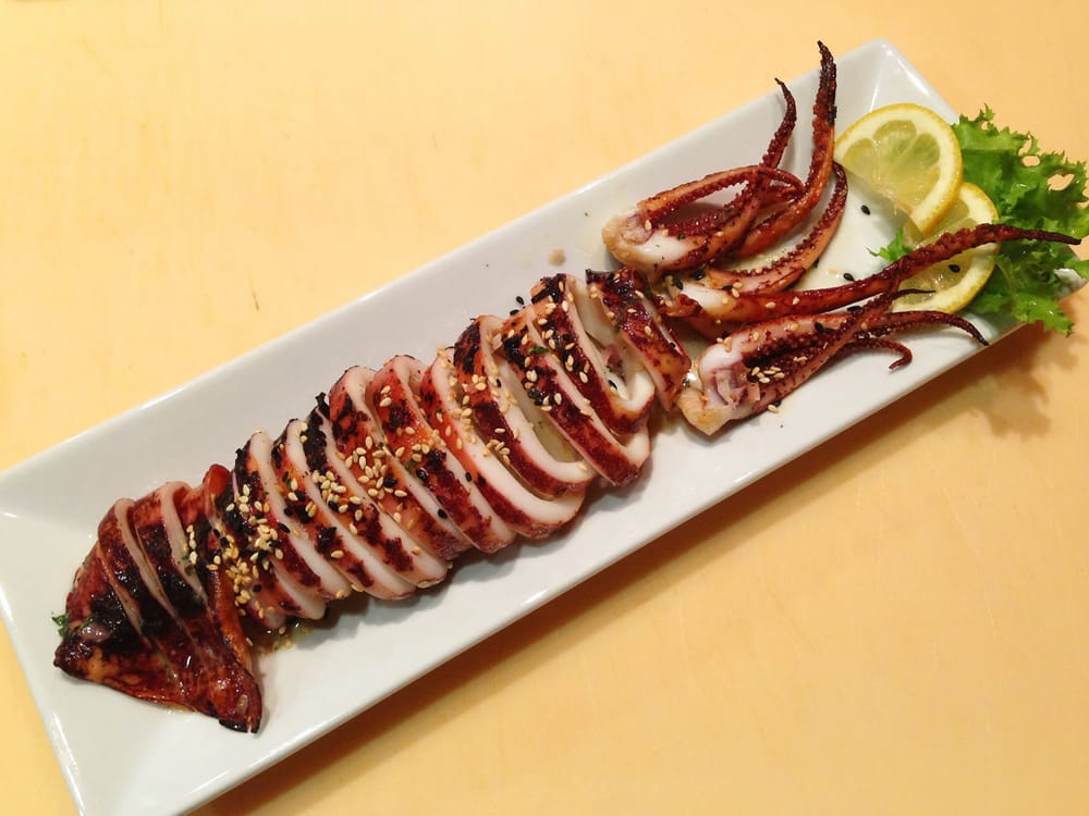 grilled whole squid - Yelp