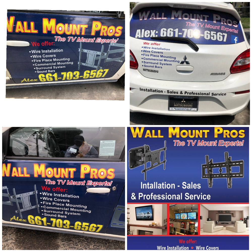 Wall mount pros: 333 Union Ave, Bakersfield, CA