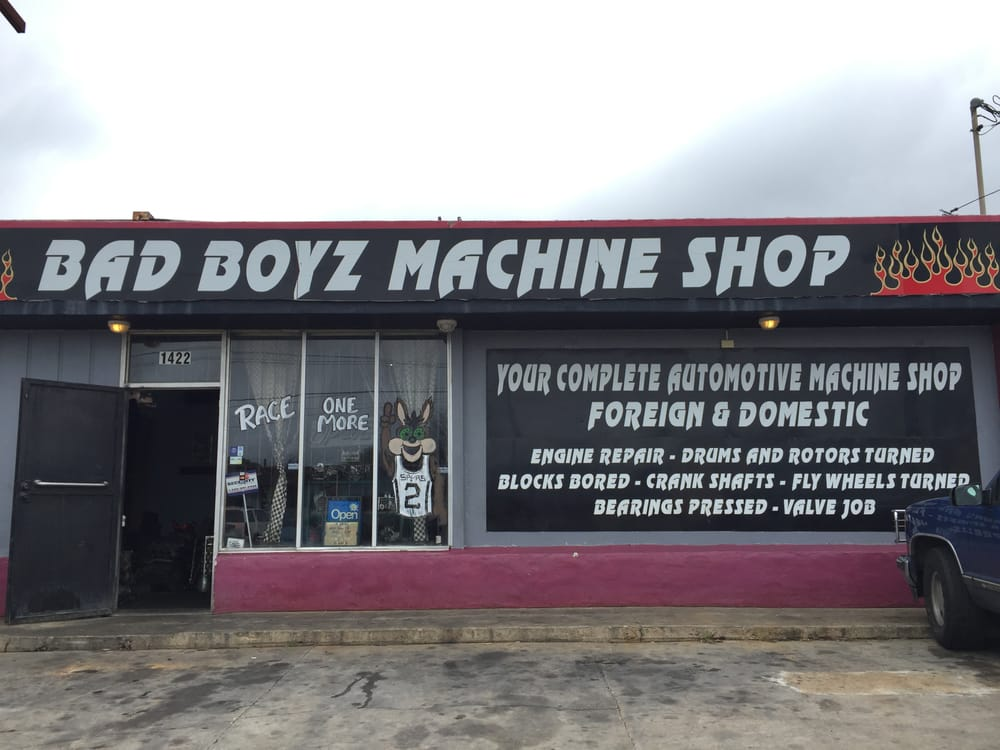 Bad boyz machine shop 210 737 8900 yelp for Motor machine shop near me