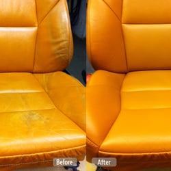 Delicieux Photo Of Fibrenew   Alexandria   Alexandria, VA, United States. Leather  Seat Redye