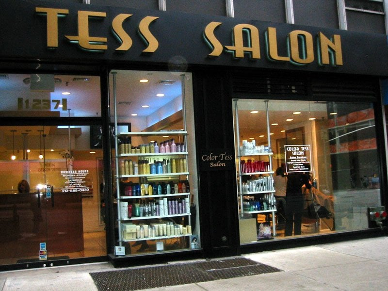 Color tess hair salon gesloten 21 reviews kappers for 1662 salon east reviews