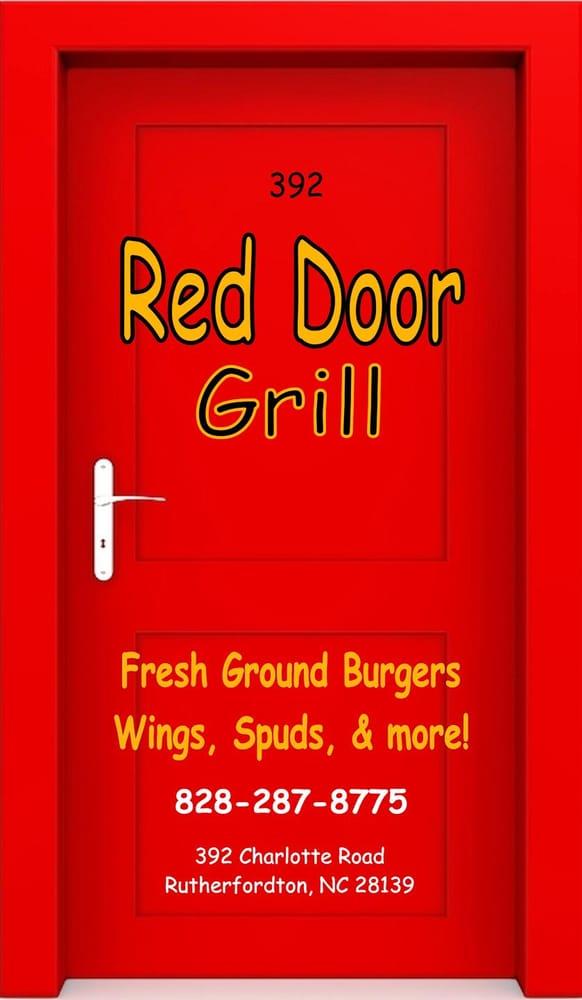Red Door Grill Restaurants In Rutherfordton Closed American