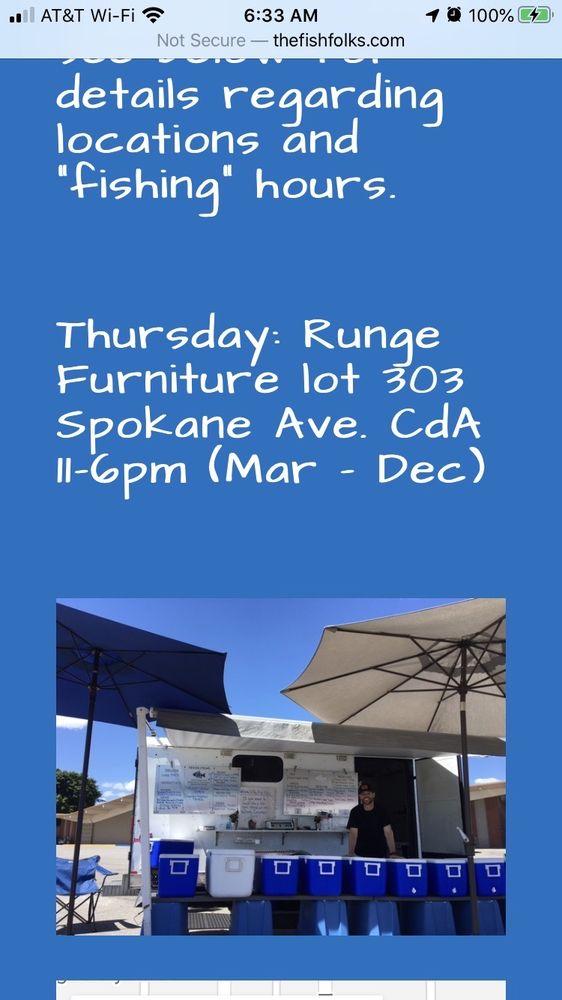 The Fish Folks: 303 E Spokane Ave, Coeur d'Alene, ID