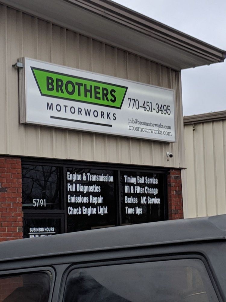 Brothers Motorworks: 5791 New Peactree Rd, Doraville, GA