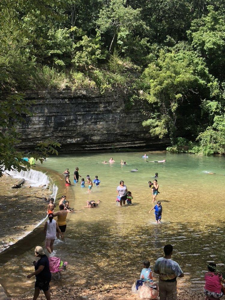 Little Blue - Swimming Hole: 37192 County Road 492, Eucha, OK