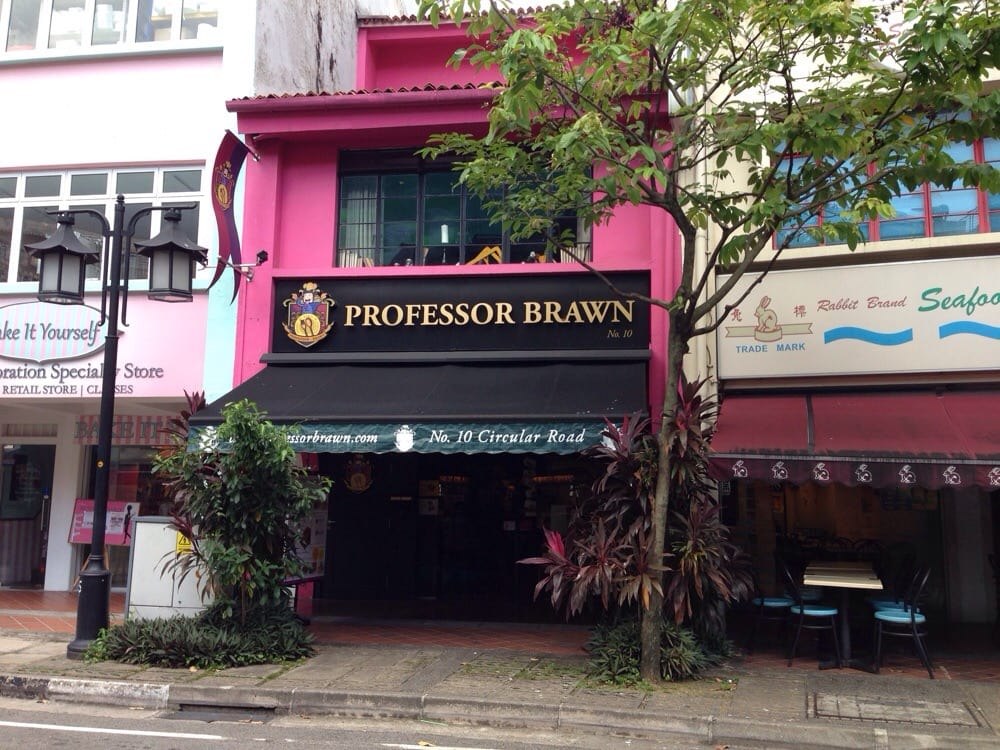 Professor Brawn Cafe Singapore
