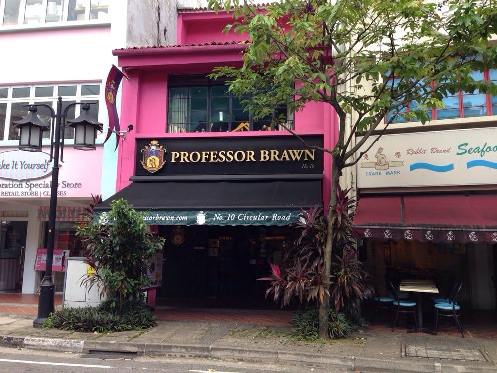 Professor Brawn Cafe Singapore