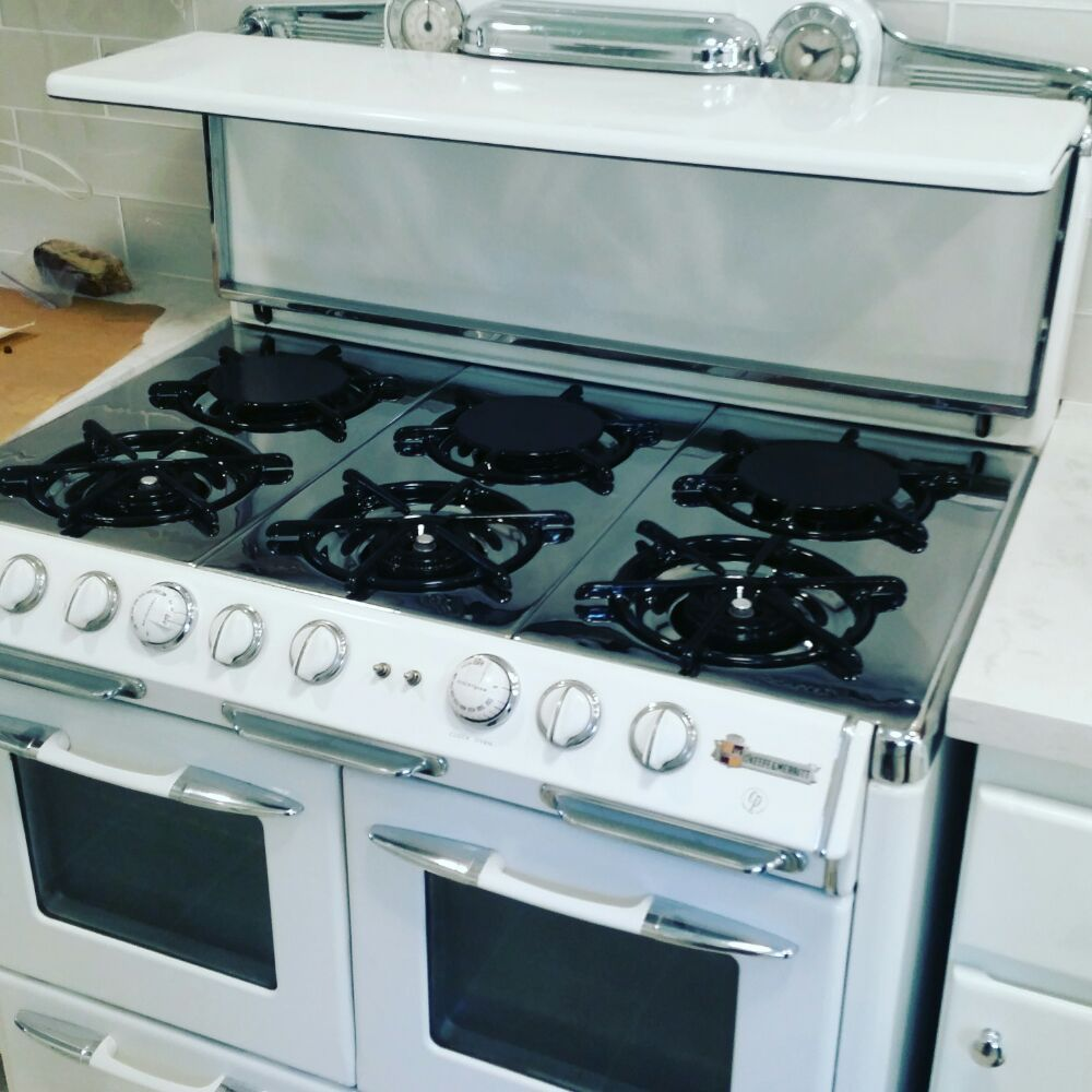 Okeefe & merritt: Double oven, double broiler, and 6 burners fully ...