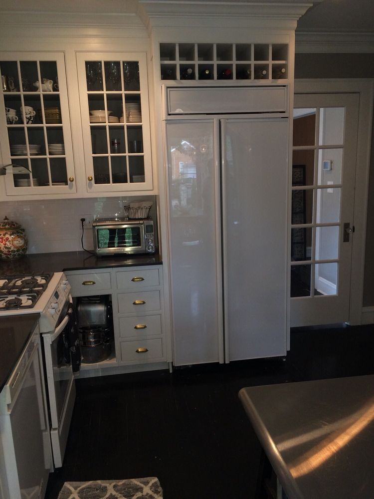Gut kitchen remodel in a historic Beverly area in Chicago colonial ...