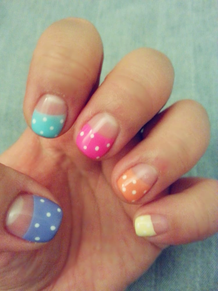 completed by Grace (my favorite!). Paid $35(no chip)+20(nail art, $2 ...