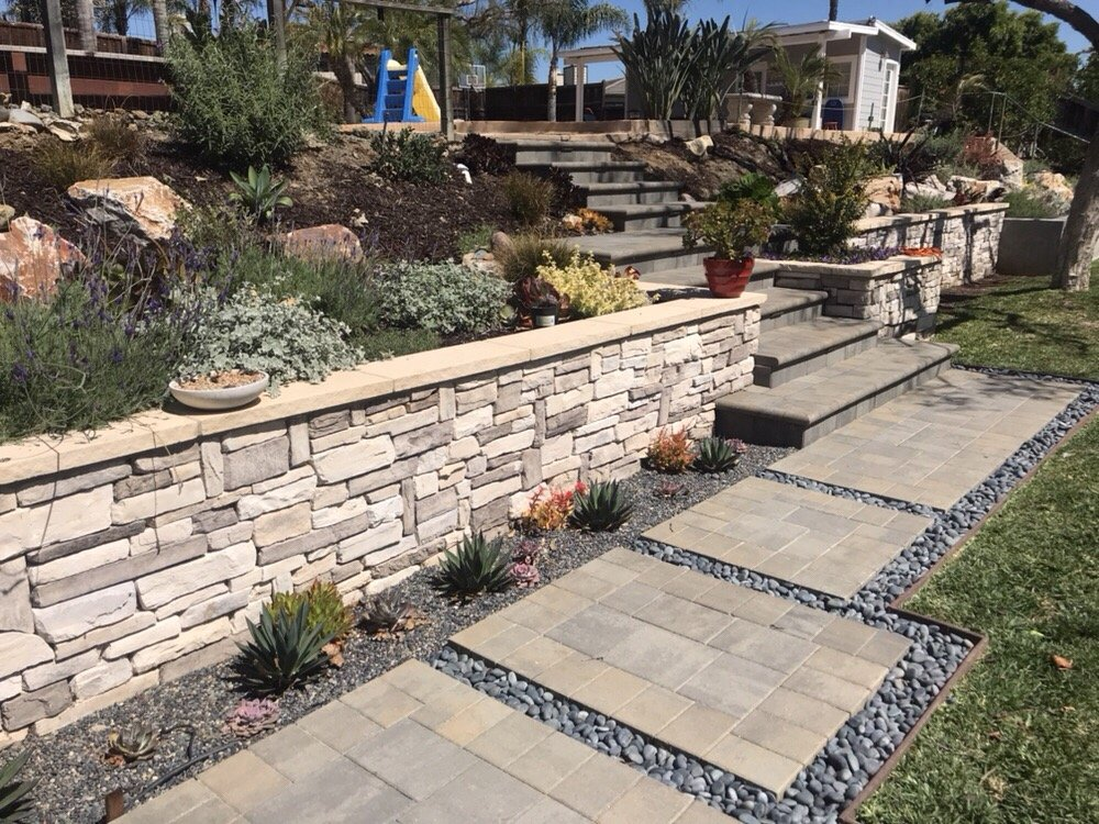 Photo Of Pacific Pavers U0026 Walls   San Diego, CA, United States. Stone