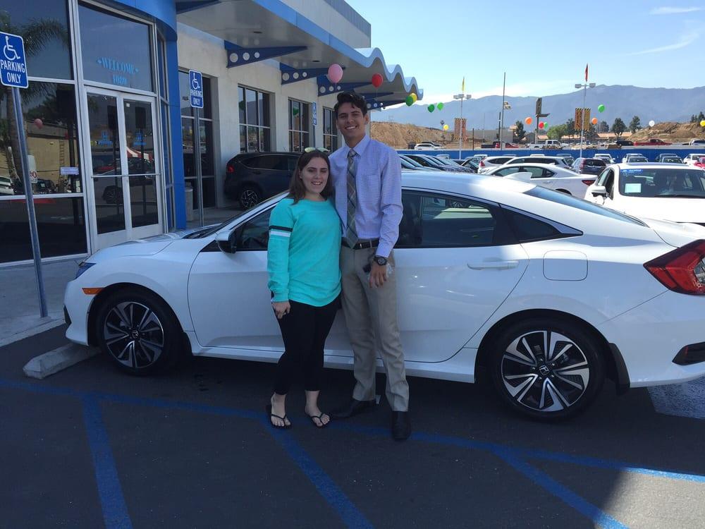 Honda Cars Of Corona >> Our Salesman Skylar Goss At Honda Cars Of Corona Yelp