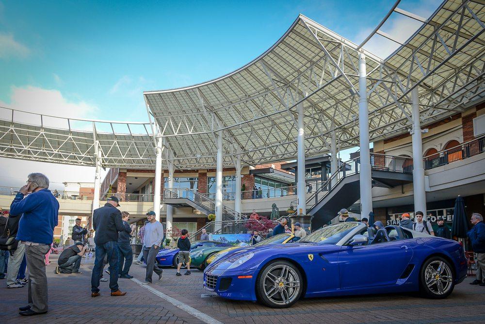 Redmond Town Center Car Show