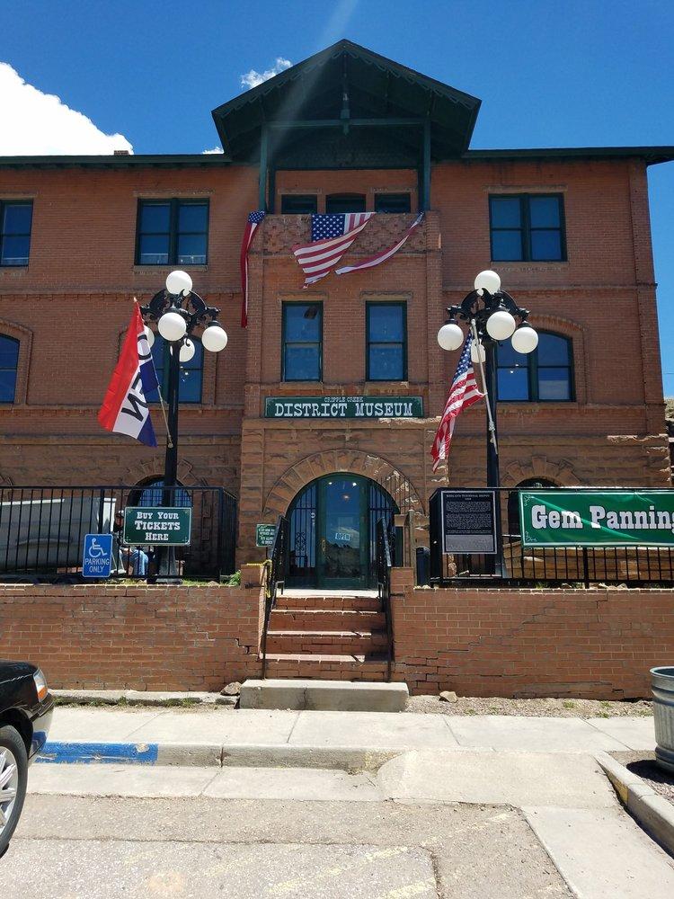 Cripple Creek District Museum: 510 Bennett Dr, Cripple Creek, CO