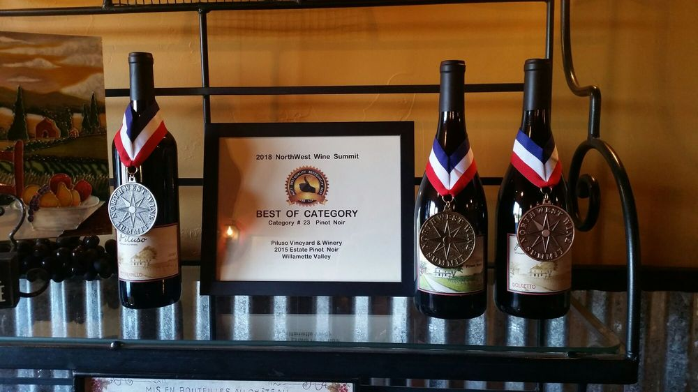 Piluso Vineyard & Winery: 6654 Shaw Hwy SE, Aumsville, OR