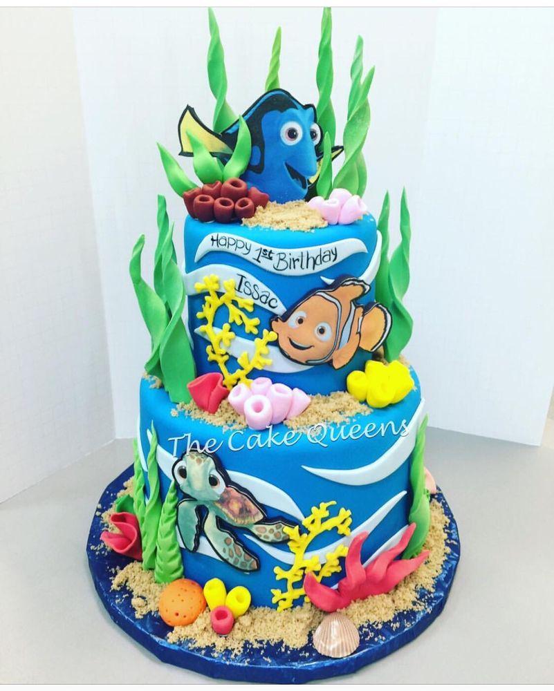Finding Dory 1st Birthday Cake Yelp