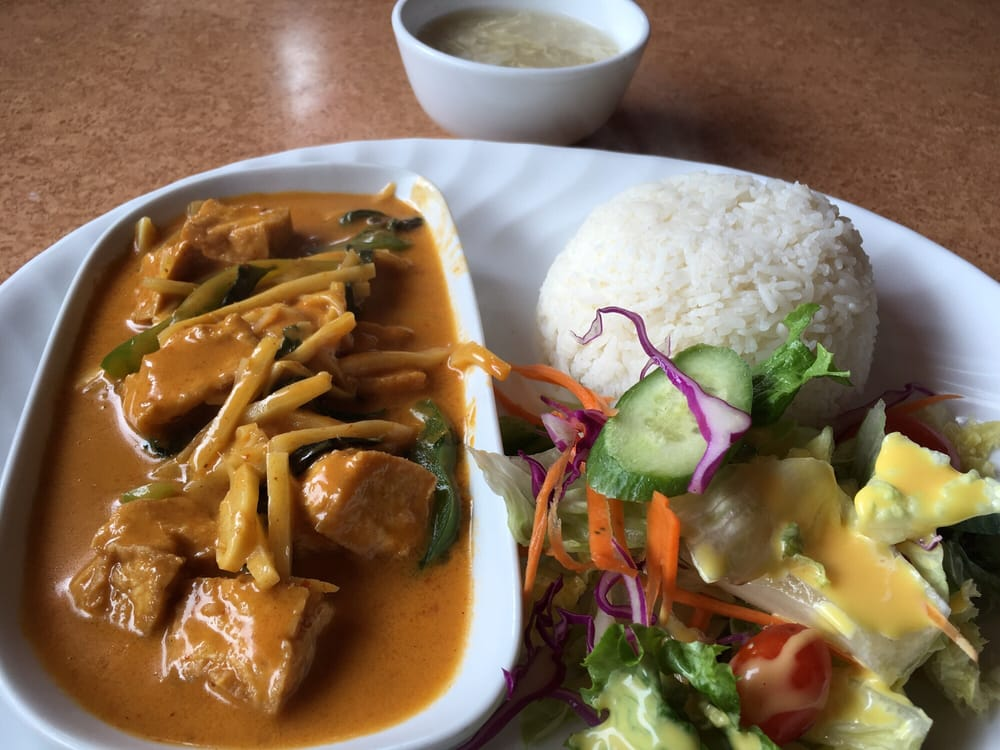 Red curry with tofu yelp for Jasmine cuisine
