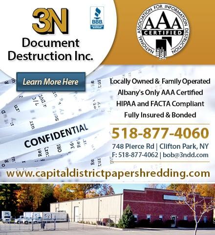3N Document Destruction: 748 Pierce Rd, Clifton Park, NY