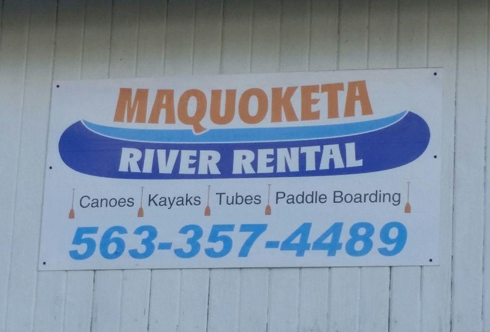 Maquoketa River Rental: 309 W Grove St, Maquoketa, IA