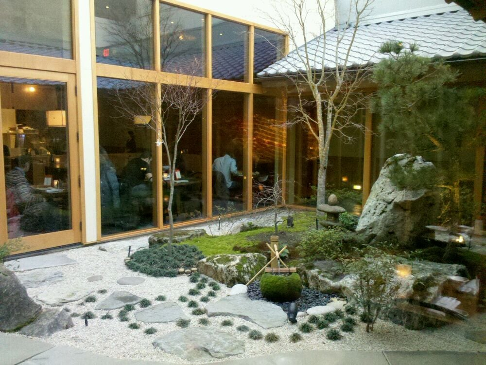 Japanese garden central courtyard yelp for Courtyard landscaping
