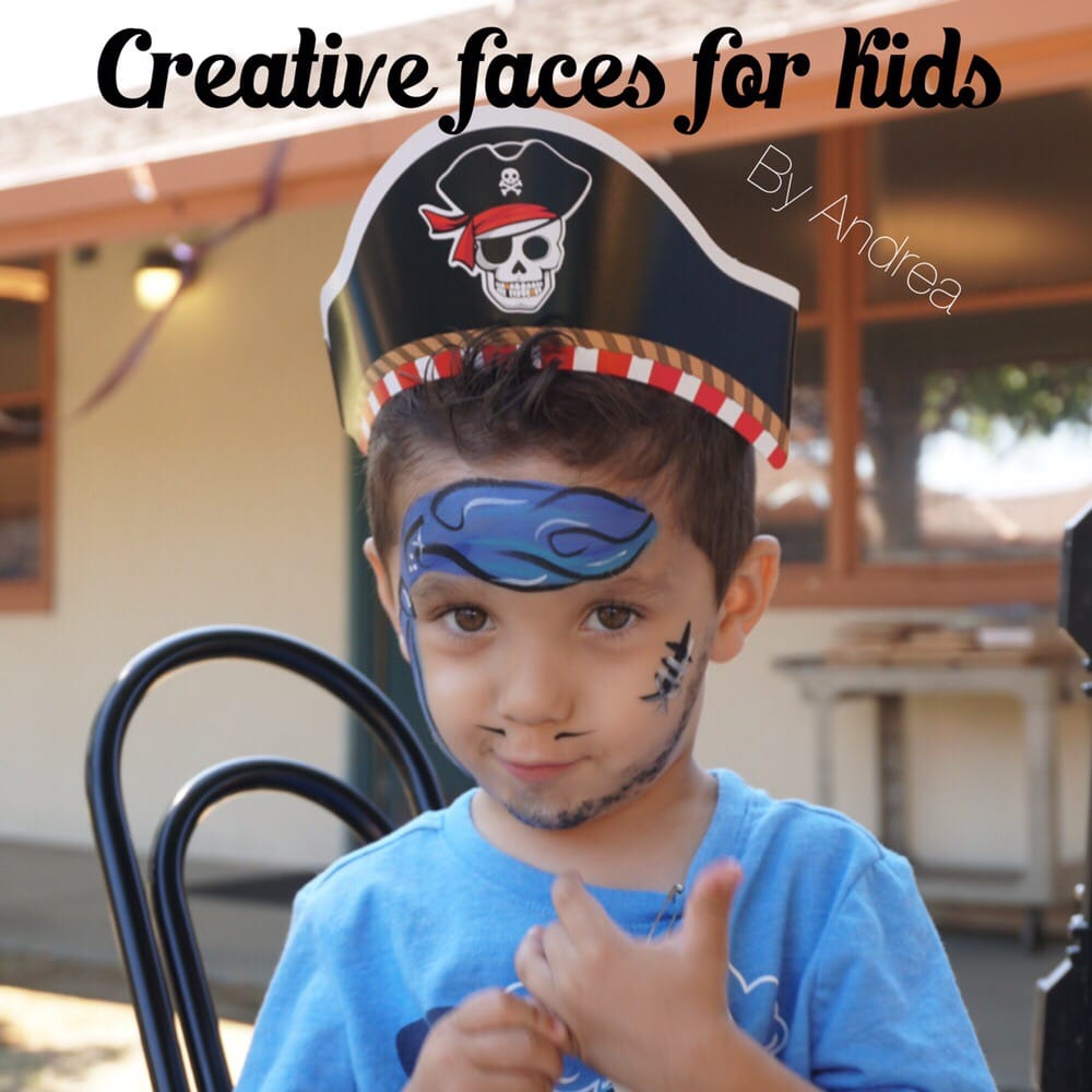 Creative Faces for kids