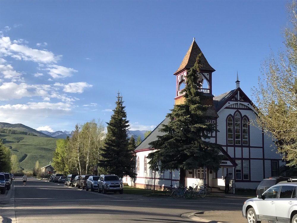 Union congregational church 403 maroon ave crested for Cabine vicino a crested butte co