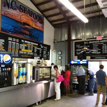 Raleigh Farmers Market Seafood Restaurant