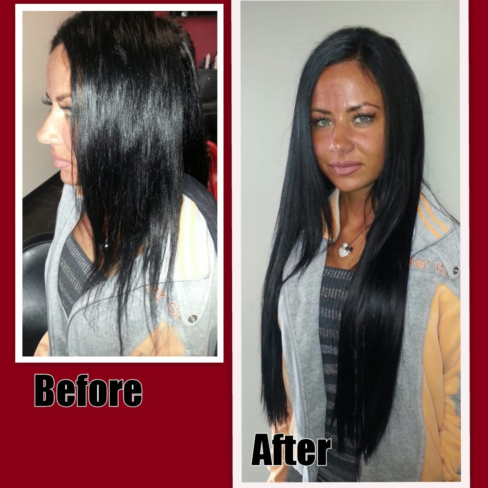 Before After Hair Extensions 22 Inches Yelp