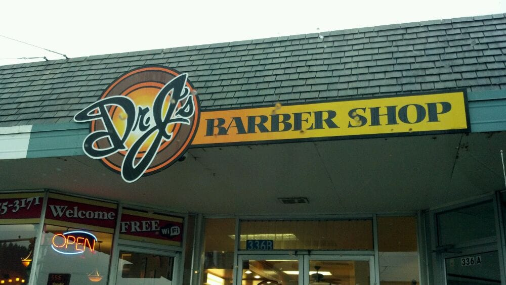 Dr J's Barber Shop: 336 E Fairhaven Ave, Burlington, WA