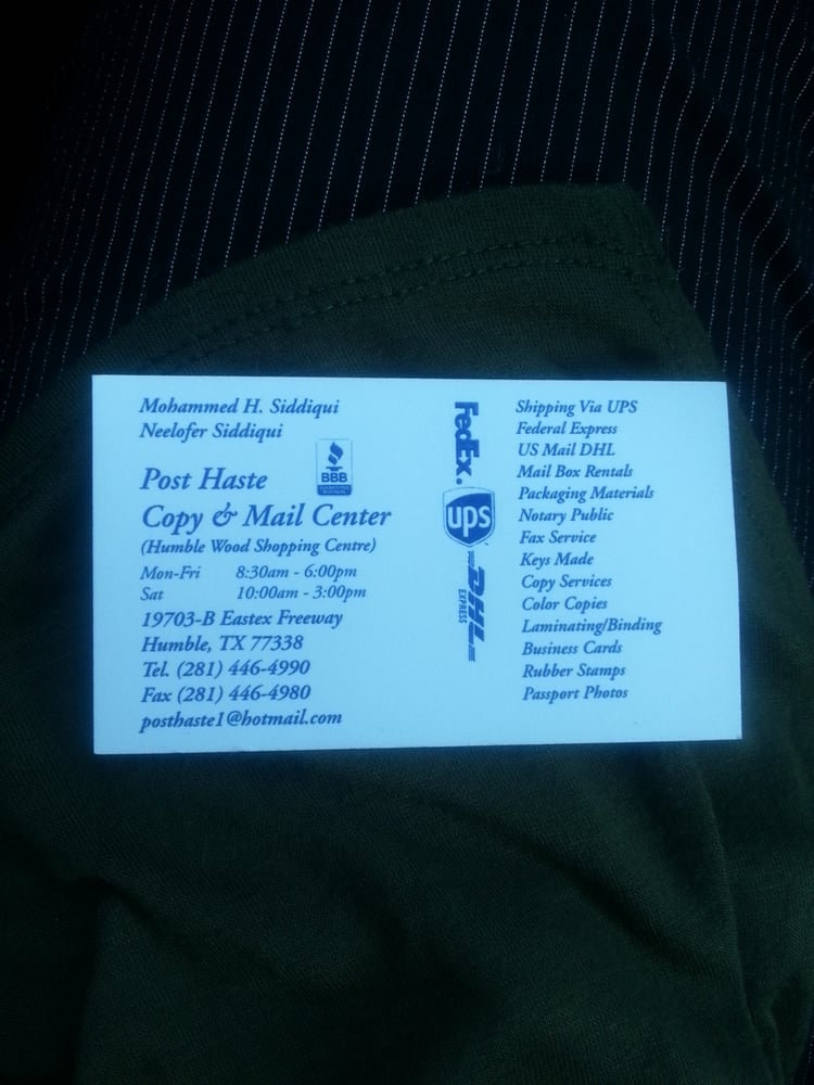 Post Haste Copy & Mail Center - CLOSED - Printing Services - 19703 ...