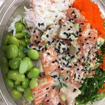 Make fish poke sushi burrito 1001 photos 696 reviews for Fish me poke menu