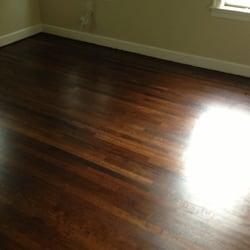 photo of hardwood floor refinishing austin tx united states dark stain