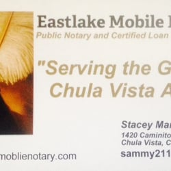 Eastlake mobile notary closed notaries 1420 caminito lucca photo of eastlake mobile notary chula vista ca united states business card reheart Choice Image