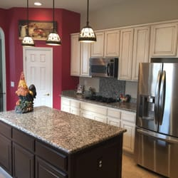 Superieur Photo Of Trico Painting   Roseville, CA, United States. Oak Cabinets  Painted And