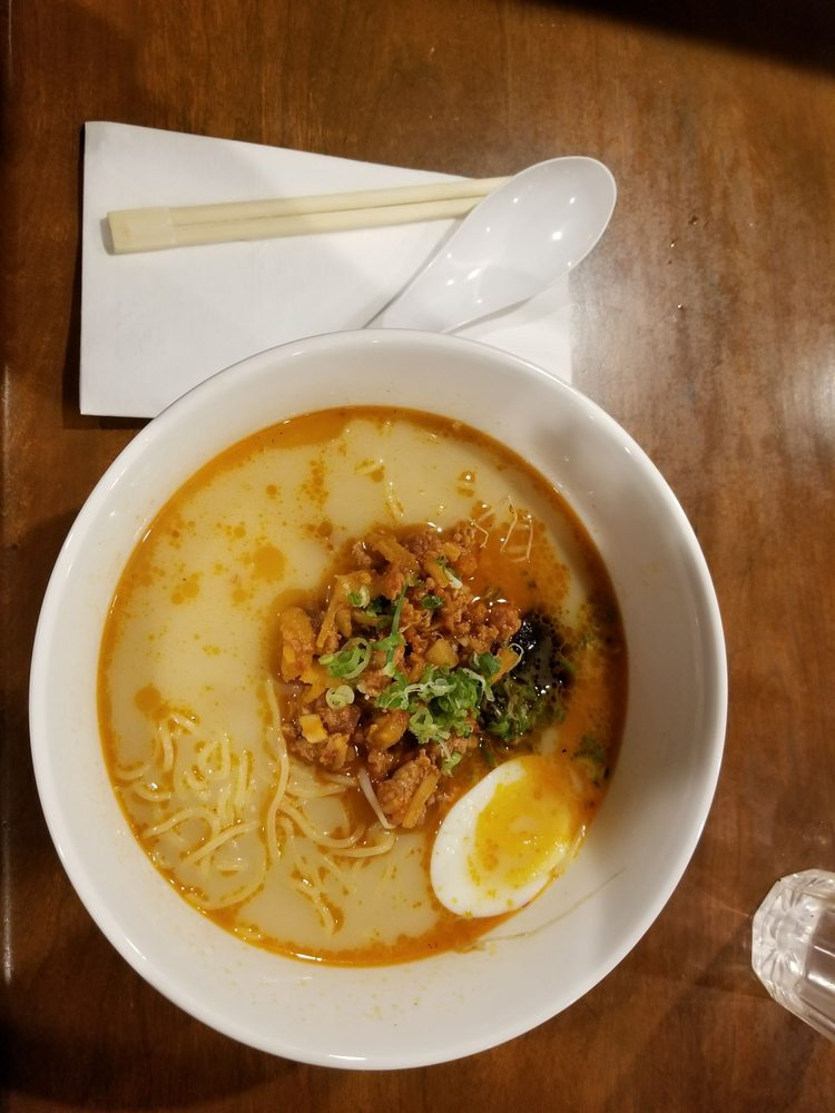 Food from Tosh's Ramen