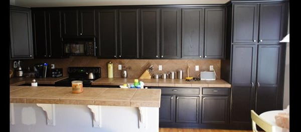 how to paint kitchen cabinets dark brown ottawa cabinet painting painters ottawa on canada 17195